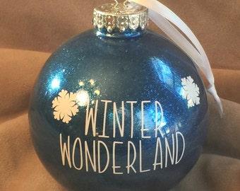Winter Wonderland Ornament