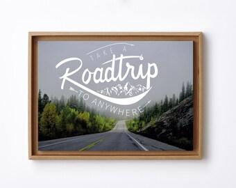 frame and displays Roadtrip