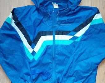 Adidas Originals 90's Mens Windbreaker Bag Nylon Tracksuit Hooded Jacket Coat