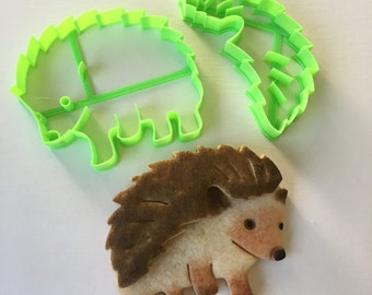 Hedgehog Cookie Cutter Set