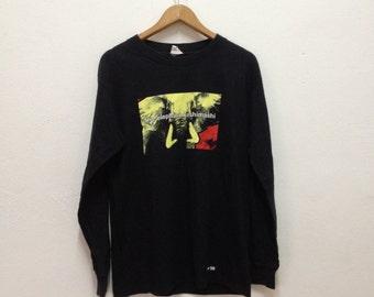 Vintage 90s The Elephant Kashimashi Japanese Rock band long sleeve shirt