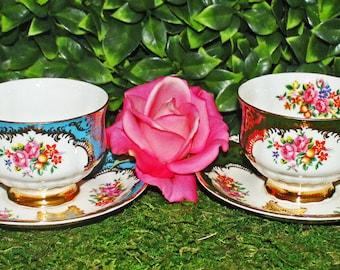 Paragon Fancy Floral Set of Four