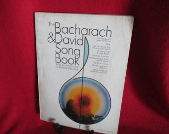 Vintage Songbook for Guitar and Piano by Burt Bacharach and Hal David