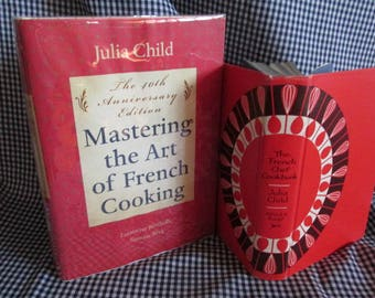 Two Vintage Julia Child Cook Books