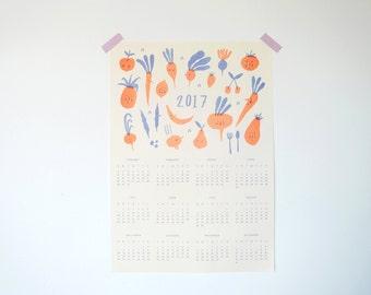 2017 Risograph Calendar - A3 Print