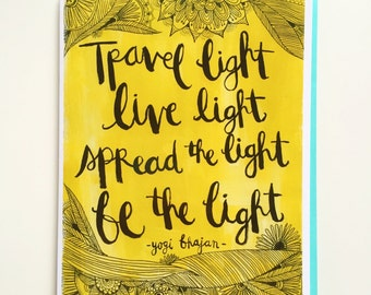 be the light {love note}