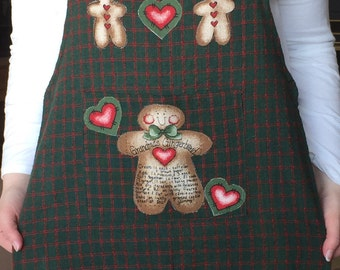 Childrens Gingerbread Apron