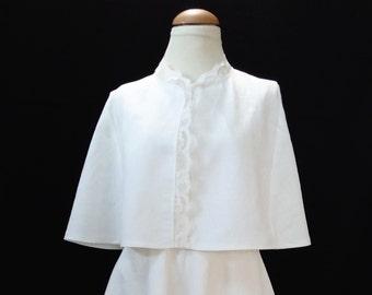 Cute little linen cape