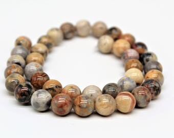 Crazy Agate Round Loose beads 6/8/10/12mm