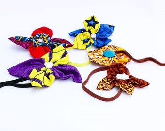 Gwello Hairband and Brooches, African Print Booches, African Print Hairbands, For her