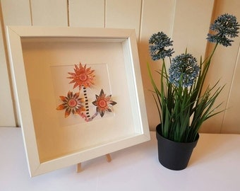 Unique Individual Paper Cut 3D Flowers. A great alternative to real flowers.