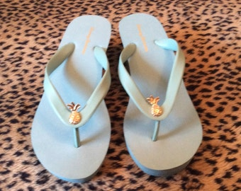 Tommy Bahama High Wedge Flip Flop