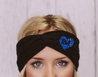 Rodan and Fields Glitter Turban Headband, Rodan and Fields Headband, Rodan and Fields, Turban Headband, Glitter Rodan and Fields