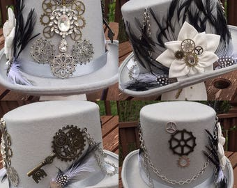Large Steampunk top hat