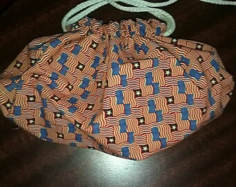 Large Drawstring bag -Americana III