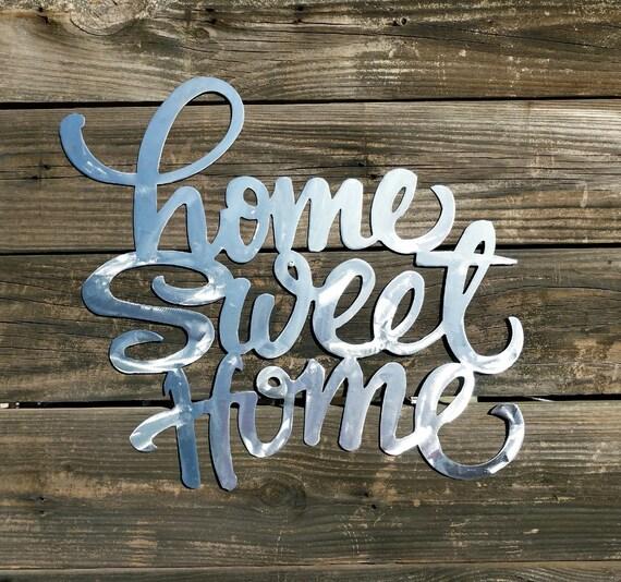 Home Sweet Home Sign Farmhouse Wall Decor Shabby Chic