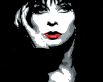 8 1/4x10 3/4 Print of Elvira