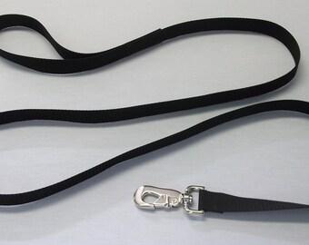 "Dog Leash, 8' Long, 1"" Wide Strap, Super Sturdy Long Leash"