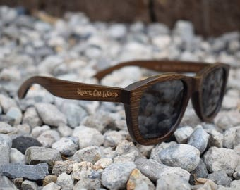 Coffee Wood - Polarized Bamboo Sunglasses for Men and Women