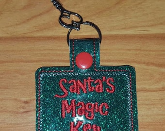 Santa's Magic Key Key Fob
