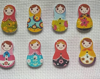 SALE: Russian doll needle minder