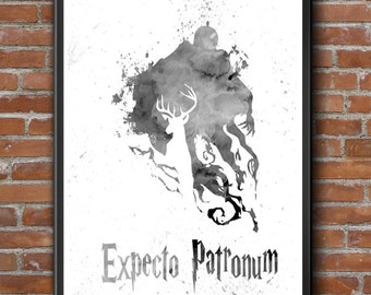 Harry Potter, Dementor Art, Harry Potter Art, Dementor Room Art, Harry Potter Print,  Dementor Print,  Dementor Poster, Harry Potter Poster