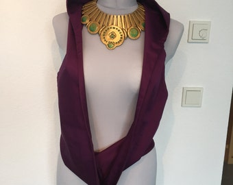 Morrigan Cosplay, necklace and top