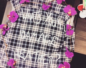 Heathers checked shirt