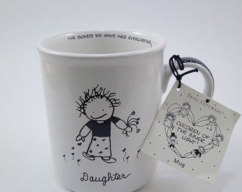 Coffee Tea Mug / Marci Children of the Inner Light / Daughter / Papel Giftware