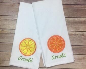 Citrus Dish Towel Set