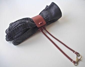 Leather Glove Holder