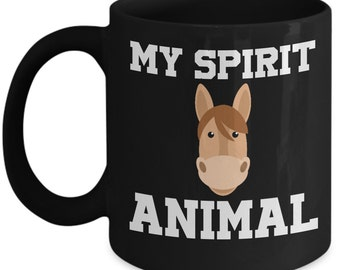 Horse My Spirit Animal Mug - Unique Gifts Idea - Horse Coffee Mug