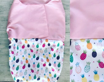 Baby Swaddler 0-6 months Pineapple
