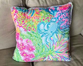 Custom Handmade lilly pillow