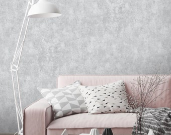 Concrete effect wallpaper, paste the wall, 10 meter roll, concrete wall, faux wallpaper, feature wallpaper, grey concrete, grey wallpaper