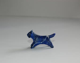 Lynx bobcat constellation figurine
