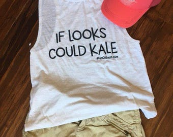 If Looks Could Kale Muscle Tank