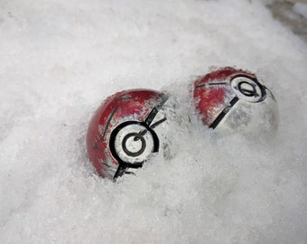 Pokeball Replica - Battle Damaged