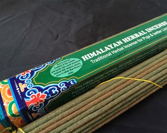 Traditional Herbal and Tibetan Monastery Incense For Puja