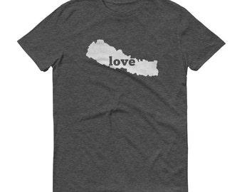 Nepal, Nepali Clothing, Nepal Shirt, Nepal T Shirt, Nepal TShirt, Nepal Map, Nepal Gifts, Made in Nepal, Nepal Love Shirt, Nepali