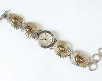 Navajo Watch Band Native American Indian Sterling Silver