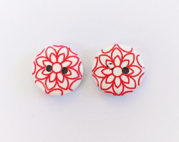 The 'Mariana' Button Earring Studs