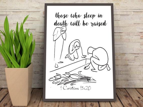 Nursery Bible Verse Art, Bible Art Print, Gospel Hymn Print, Christ is the Answer, Quote from Bible Art, Sunday School Bible Verse Print