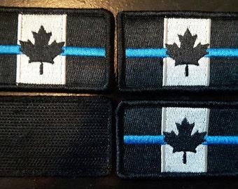 Patch (patch) CANADA BLUE LINE flag