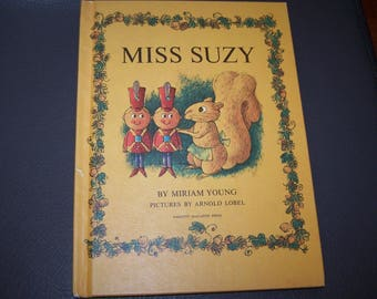Miss Suzy by Miriam Young Pictures by Arnold Lobel 1964 Hardcover Book
