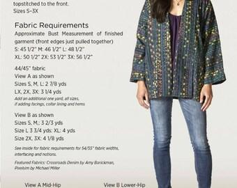 Swing Jacket Sewing Pattern