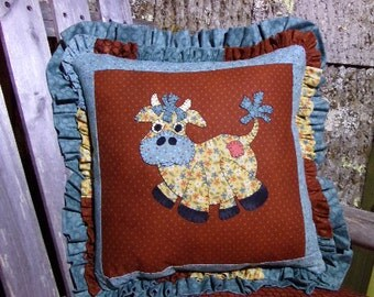 PATTERN ONLY APPLIQUE - Mad Cow Applique Pattern