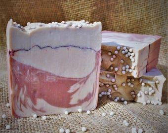Cotton Candy Twist Handmade Soap