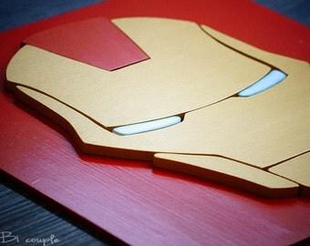 Superhero Ironman, Wall art, Kids bedroom wall art