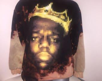 Notorious BIG sweatshirt  .